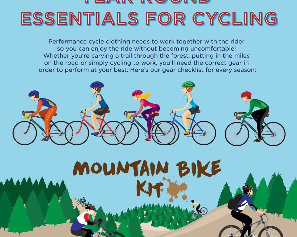 On Your Bike – Cycling Essentials – Mud and Nettles